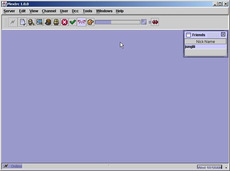PlexIrc - Java based visual IRC client